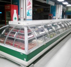 超市半高柜玻璃门